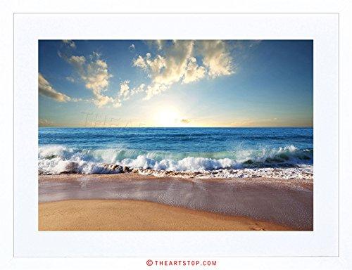 Sand Beach Framed - 8