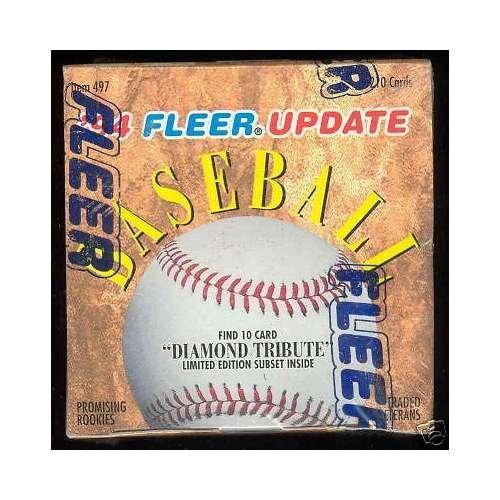 1994 Fleer Update Baseball Factory Sealed Complete Box Set Alex Rodriguez ROOKIE