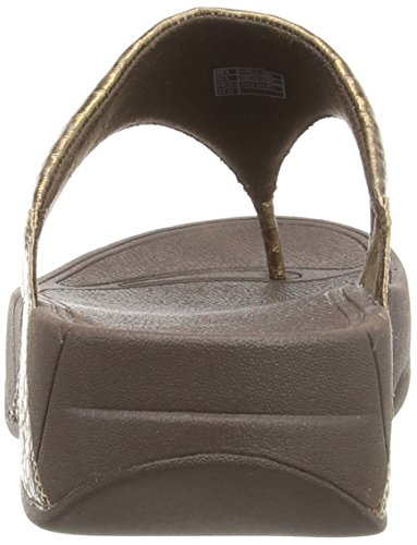 fd2fbd93f177 FitFlop Women s Lulu Metallic Snake Flip-Flop  Buy Online at Low Prices in  India - Amazon.in