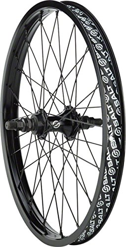 Salt Rookie 20 Rear Cassette Wheel 14mm Axle RHD 9t Driver Black