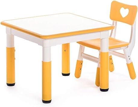 CTC Juego de Mesa Y Silla para Niños - Mesa de Estudio de Mesa de ...