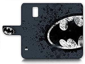 Samsung Galaxy S5 Flip Wallet Case Cover Screen Protector Bundle A8183 Batman at Gotham City Store