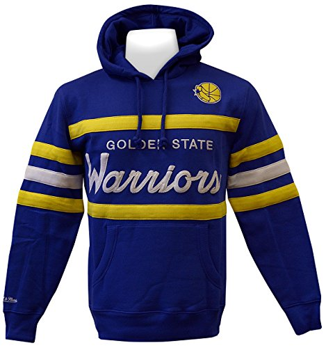 4adc449358d Mitchell   Ness Golden State Warriors Pullover Hoody (Large)