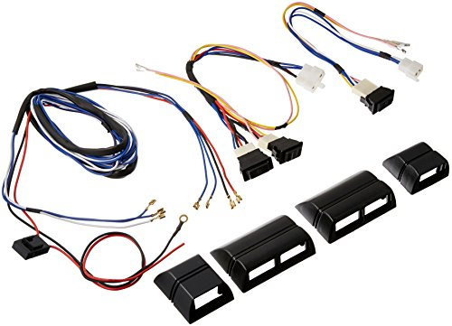 AutoLoc Power Accessories 315298 Power Window Switch Kit with Harness and Cases