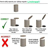 Linlinzz 10 Pcs Multifunctional DIY Disc Rare Earth Neodymium Magnets