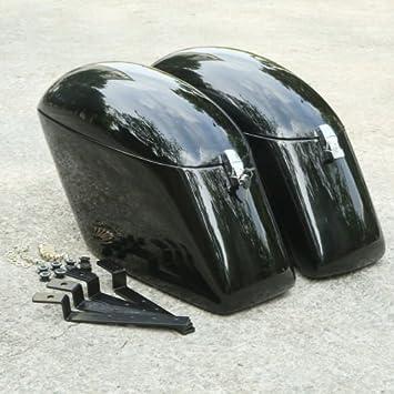 Tcmt Black Hard Saddlebags Mounting Kit For Kawasaki Vulcan 800