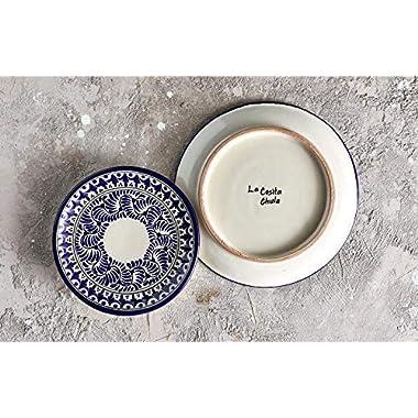 Mexican Handmade Talavera Dinnerware Set Service for 4