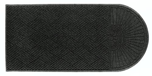 M+A Matting 22248 Waterhog Eco Grand Premier PET Polyester Fiber Single End Entrance Indoor/Outdoor Floor Mat, SBR Rubber Backing, 5-1/2' Length x 3' Width, 3/8
