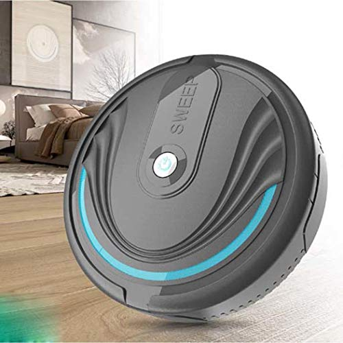 Muilek Household Robot Vacuum Cleaner, Intelligent Sweeping Robot Automatic Cleaner Mini Smart Ultra Flexible Robot