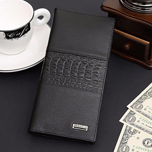 long-mens-genuine-leather-bifold-wallet-id-card-holder-clutch-checkbook-handbag
