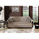 Argos Sofa Bed in Zilkade Light Brown