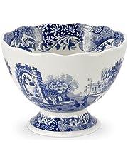 Spode Blue Italian Footed Dessert Bowl(s)