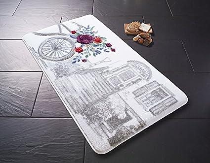 Confetti 331 01187 0469 01 tappeto bagno poliammide grigio