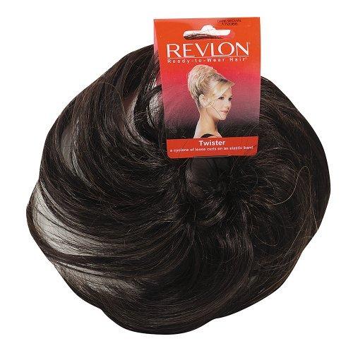 Revlon Hair Extensions (Revlon Twister Hairpiece Dark Brown)