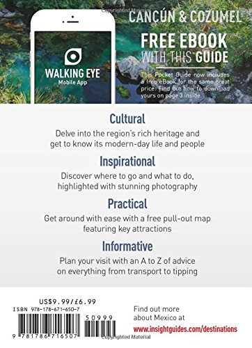 Insight Guides Pocket Cancun & Cozumel Travel Guide with Free ...