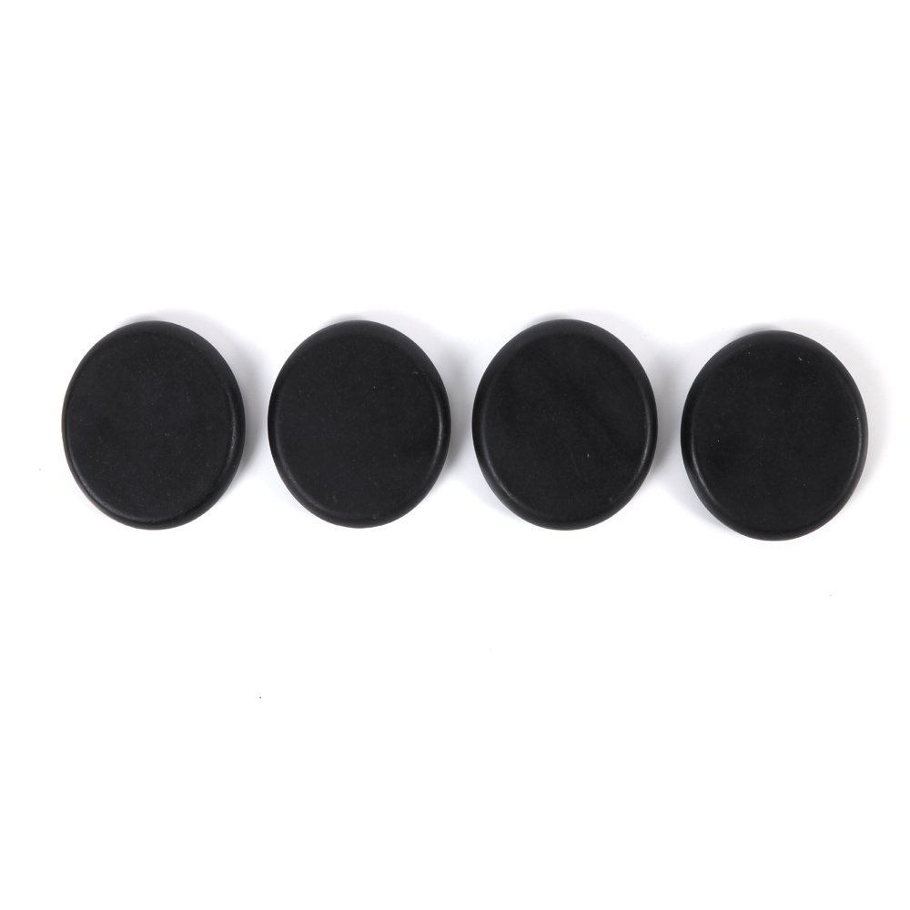 Aboval 20Pcs Professional Massage Stones Set Natural Lava Basalt Hot Stone for Spa, Massage Therapy by Aboval (Image #6)
