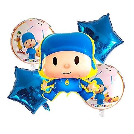 CHENZHAOL Balloon Party, 15pcs de Dibujos Animados, patrón ...