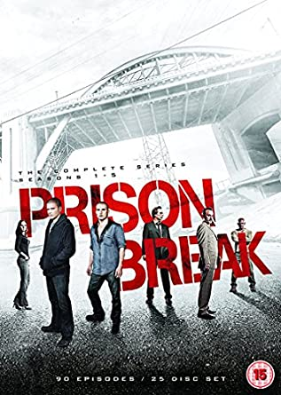 Amazon Com Prison Break Complete Seasons 1 5 25 Dvd Box Set Prison Break Seasons One Two Three Four 80 Episodes Non Usa Format Pal Reg 2 Import United Kingdom