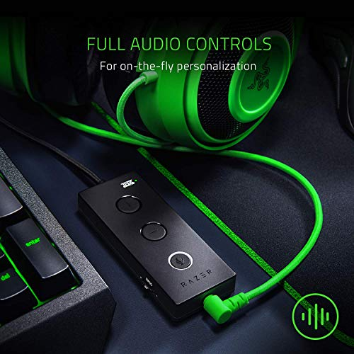 Razer Kraken Tournament Edition: THX Spatial Audio - Full Audio Control - Cooling Gel-Infused Ear Cushions - Gaming Headset Works with PC, PS4, Xbox One, Switch, & Mobile Devices - Black by Razer (Image #1)
