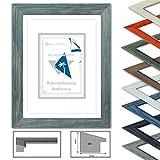 Wooden frame VICTORIA, Caddies Colour Grey, Profile HxB 17x24mm, 20x30 cm