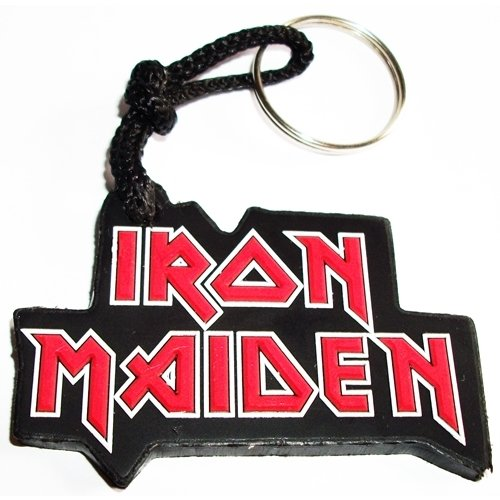 Chaveiro Emborrachado Iron Maiden