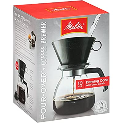 Melitta 640616 Coffee Maker Pack of 1 Glass Carafe