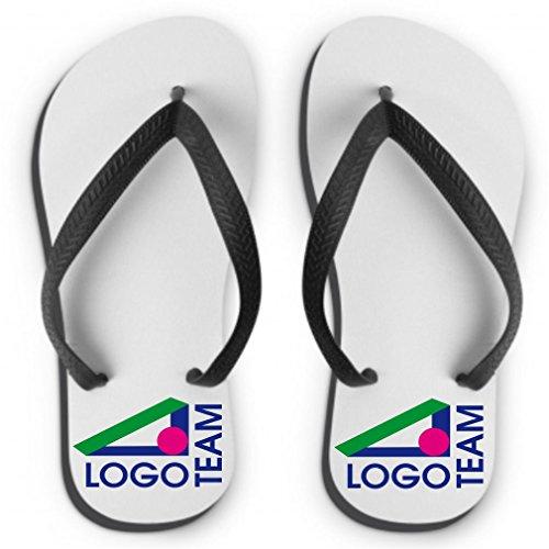 Flip Flops mit individuellem Firmen-logo