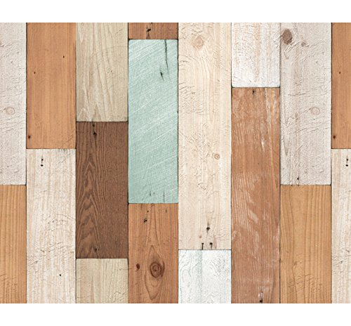 vintage colorful wood panel pattern contact paper self adhesive peel stick. beautiful ideas. Home Design Ideas
