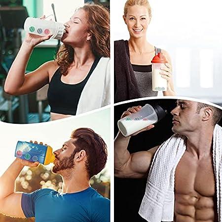 HEMOTON 10 Uds. Batidor de Proteínas Batidor de Whisky Mezclador de Plástico Mezclador de Botellas Mezclador de Botellas Mezclador de Proteínas Color Aleatorio
