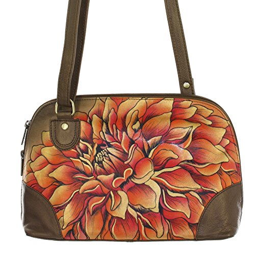 anuschka-hand-painted-genuine-leather-multi-compartment-zip-around-organizer-dreamy-dahlias-bronze