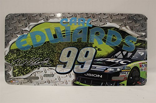 carl-edwards-99-aflac-diamond-plate-aflac-license-plate