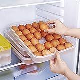 HANSGO Egg Holder for Refrigerator, Deviled Egg