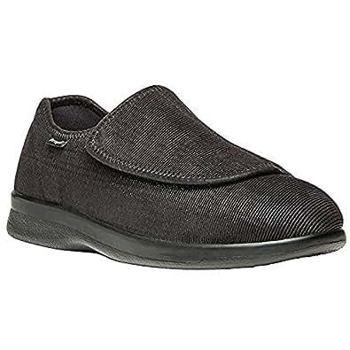 Propet Men's Sawyer Shoe Black 8 X (3E) & Oxy Cleaner Bundle