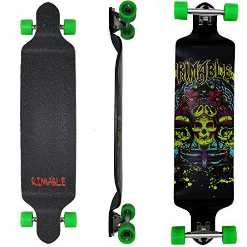 Rimable 41 Inch Drop Deck Complete Longboard