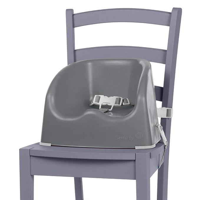 Safety 1st Essential Booster Rehausseur de Chaise, De 6 mois à 3,5 ans (15kg), Warm grey