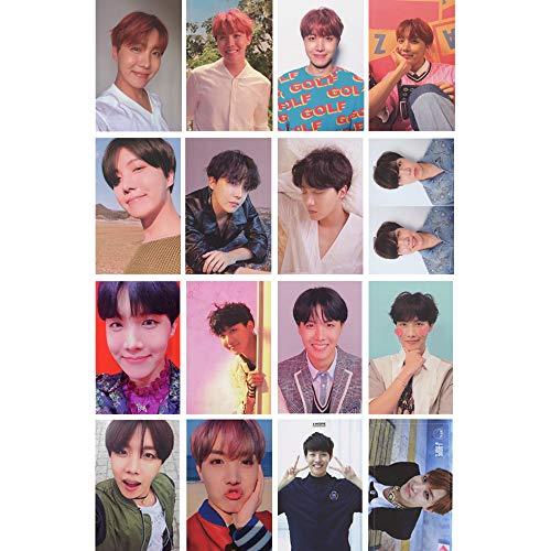 16 Pcs KPOP BTS Bangtan Boys J-HOPE Love Yourself 結 Answer 承 Her 轉 Tear Album Poster Photo Card for ARMY Gifts
