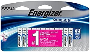 Amazon.com: Energizer AAA Lithium Batteries, Ultimate