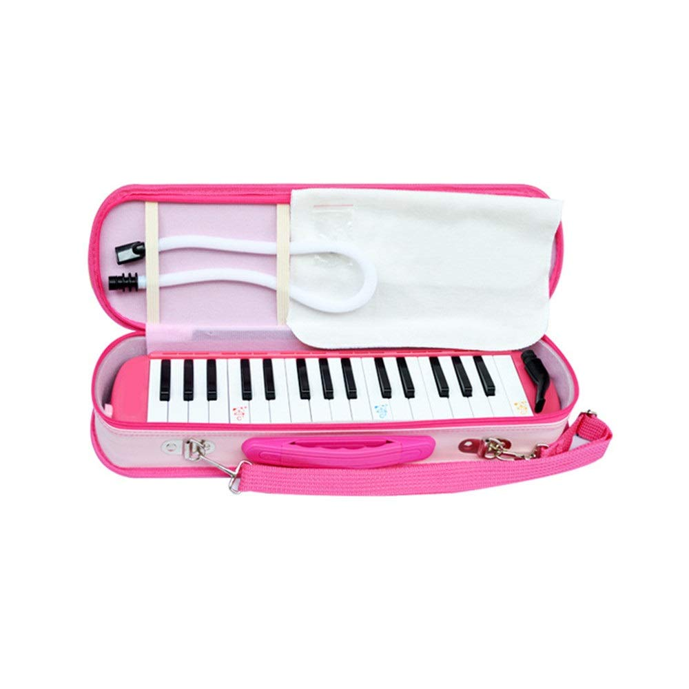 Melodica Musical Instrument Kids Melodica 32 Keys With Portable Carrying Case Mouthpieces Tube Sets Kids Musical Instrument Gift Toys For Music Lovers Beginners Air Piano Keyboard for Music Lovers Beg by Shirleyle-MU (Image #1)