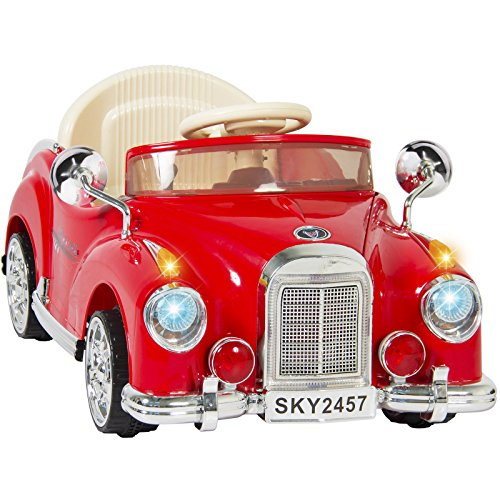 eight24hours-ride-on-car-rc-classic-car-remote-control-electric-battery-power-red