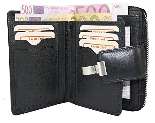 Borsa in pelle portafoglio da donna saffico portafoglio borsa donna in pelle da donna xxl borsa custodia denaro