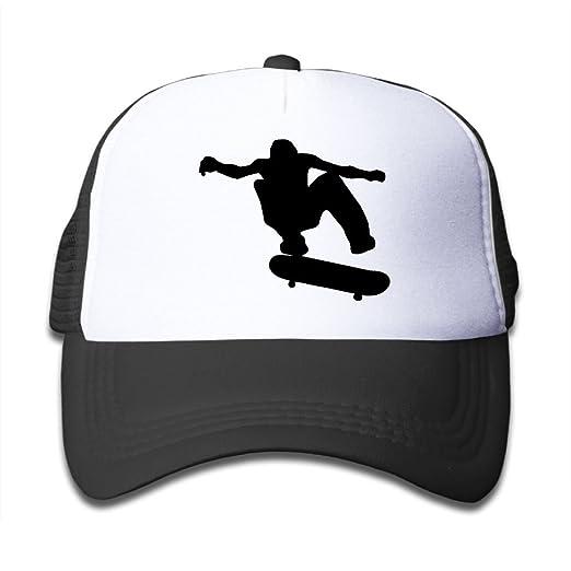 0c40cd08cdb Amazon.com  Skateboard Clip Art On Boys and Girls Trucker Hat