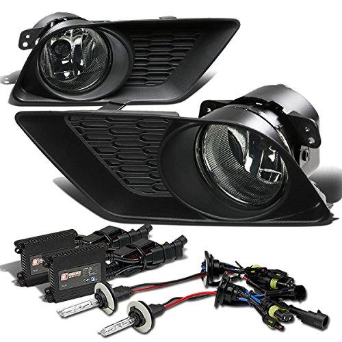 Dodge Charger Bumper Fog Light+Switch+6,000K HID+Slim Ballast (Smoke Lens) - 7th Generation