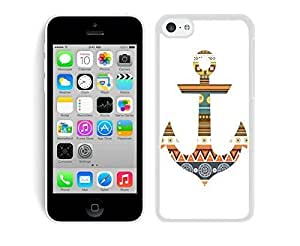 Case,Iphone,Amazon,Belt Clip and Case Combo,Anchor Aztec iPhone 5C Case White Cover