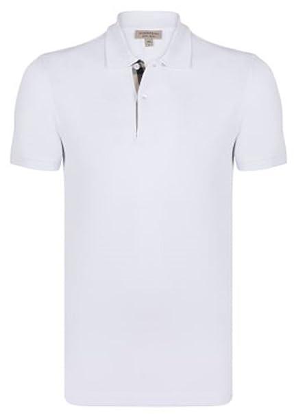 ee26cad8b8 Polo Shirt Uomo/Men Burberry Oxford Manica Corta: Amazon.it ...