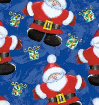 Jolly St. Nick Gift Wrap Roll 24
