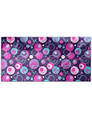 Dot And Circle Mix Rectangle Tablecloth Large Dining Room Kitchen Woven Polyester Custom Print
