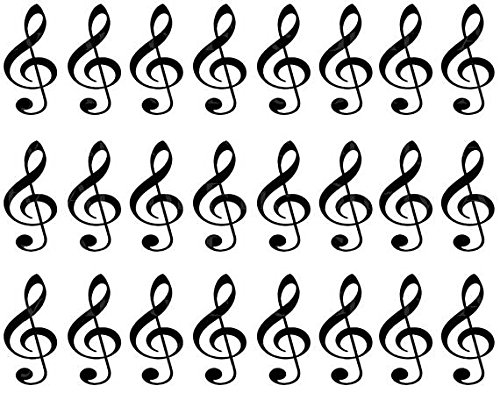 Music-Band-Notes-Birthday-Cake-Side-Designer-Strip-Edible-CakeCupcake-Party-Topper