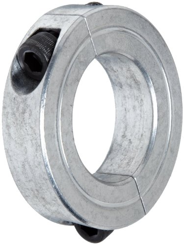 Climax Metal 2C-112-A Aluminum Two-Piece Clamping Collar, 1-1/8