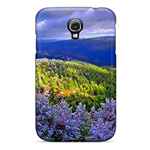 Perfect Colorful Valley Case Cover Skin For Galaxy S4 Phone Case