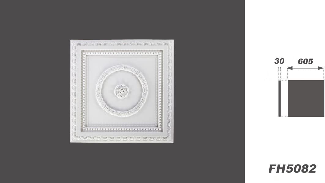 1 Rosette Ceiling Styrofoam Stucco Interior Wall Decor EPS Decor All Models Marbet